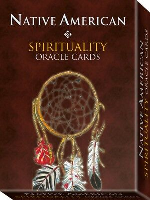 Native American Spirituality Oracle Cards: 32 full colour cards &...