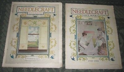 2 September 1922 And 1922-23 Gift Book - Publications - Needlecraft