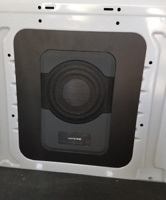 Alpine PWE-S8 Subwoofer mounting panel for Ford Transit van