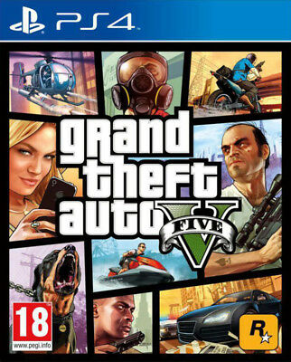 Videogioco PS4 GTA V Grand Theft Auto 5 Nuovo Italiano per Sony PlayStation 4