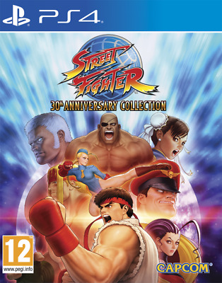 Videogioco PS4 Street Fighter 30th Anniversary Edition ITA Sony PlayStation 4