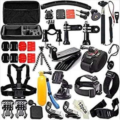 Outdoor Cycle Sport Bundle 51-in-1 Set Accessory Kit for GoPro Hero5/4/3+/3/2/1