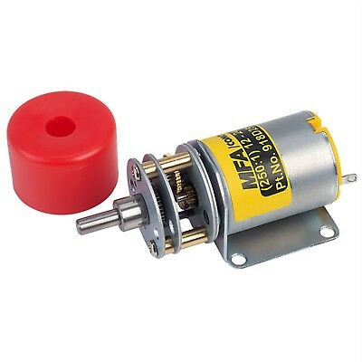 MFA Gearbox and Motor 250:1 4mmshaft 12-24V