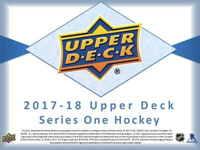 17-18 Upper Deck Series One & Two Young Guns U Pick From List-Free Combined S&H