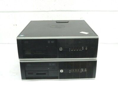 Job Lot of 2 x HP 6305 Compaq Pro PCs Dual Core AMD A4 5300b 3.4Ghz 500Gb SATA
