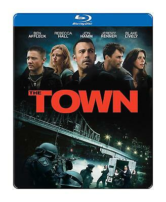 The Town Blu-ray+DVD Digital Steelbook Combo Pack Gift Box Set NEW SEALED