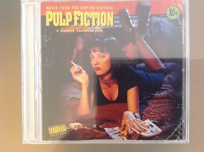 Pulp Fiction Original Motion Picture Soundtrack Cd - Brand New And Sealed