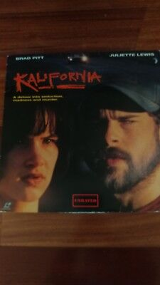 Kalifornia UNRATED Widescreen Laserdisc - Brad Pitt