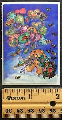 Vintage Stickers - Lucy Rigg - Teddy Bear - Mint Condition!!