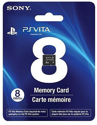 8GB Memory Card PS Vita