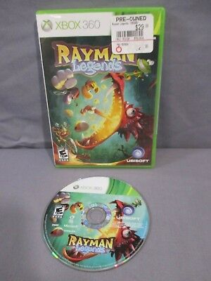 XBox 360 RAYMAN LEGENDS Video Game Disc w/ Case 2013