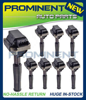 Set of 8 Ignition Coil For Jaguar 1999-03 XJ8 XJR /& 1999-02 XK8  UF415 4.0L V8