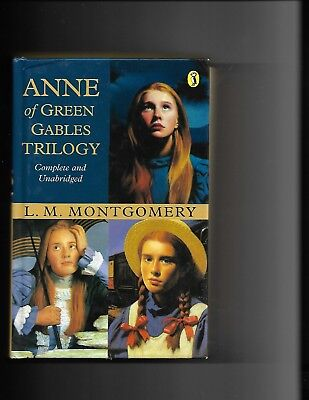 Anne Of Green Gables Trilogy (Hardcover, 2002) The First Three Books In Series