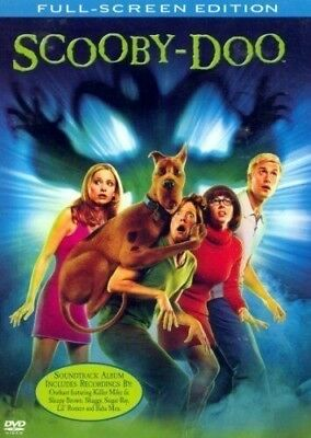 Scooby-Doo - The Movie (DVD, 2002, Full Frame) NEW