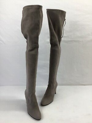 4e9f7ee2a92 Stuart Weitzman HighLand Topo Suede Over The Knee Boots Size 8.5M H149
