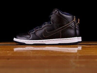cheap for discount 10b1a 664bd NIKE SB DUNK High Pro Nba Cleveland Cavaliers Black College Navy White Sz  6-15