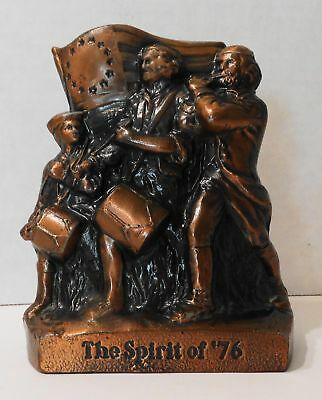 The Spirit of '76 Patriotic Vintage Cast Metal Bank by Banthrico, Chicago