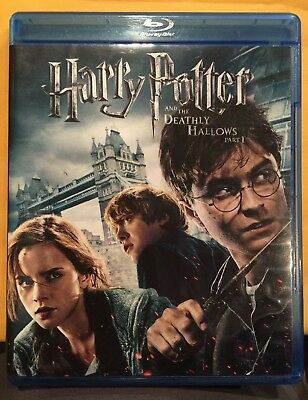 EUC Harry Potter and the Deathly Hallows: Part I - Blu-ray and DVD
