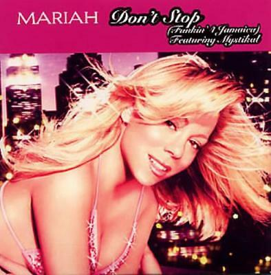 "Mariah Carey CD single (CD5 / 5"") Don't Stop [Funkin' 4 Jamaica] UK promo"