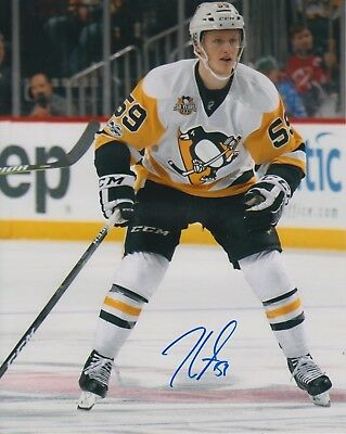 44f02d58d11 JAKE GUENTZEL SIGNED AUTOGRAPHED 8x10 - Pittsburgh Penguins - U ...