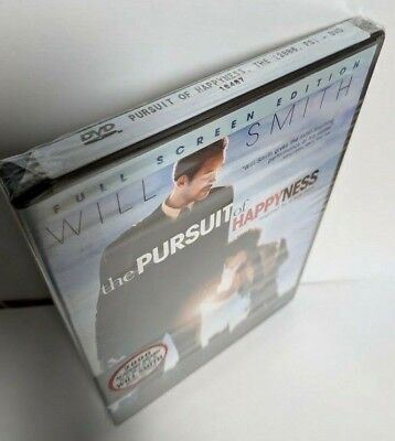 The Pursuit of Happyness (DVD) BRAND NEW -- Full Screen Edition Will Smith