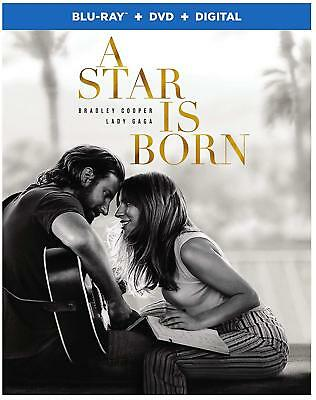 A Star Is Born Blu-Ray | Dvd | New | Bradley Cooper | Lady Gaga