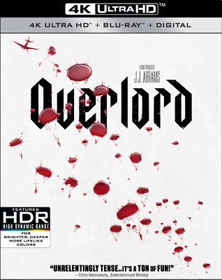 Overlord 4K Ultra Hd (Region Free) | Blu-Ray (Region A) | Horror