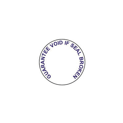 Guarantee Void Labels, Blue Tamper Proof, 19mm Circles, Pack Of 90