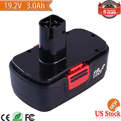 FOR CRAFTSMAN 19.2VOLT C3 BATTERY 315.11375 Diehard c3 130279005 315.11376 11374