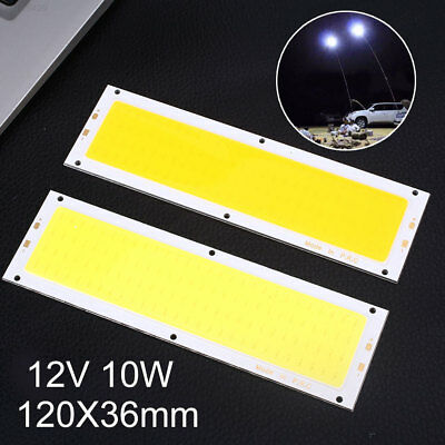 7AD6 LED Strip 12V 10W 120*36mm Car Light Panel Light DIY Energy Saving