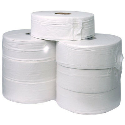 Andarta 01-022 2Ply 410m 62mm Core Jumbo Toilet Roll - Pack Of 6