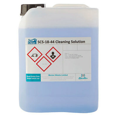 Warton SCS-18-44 5L Surf Clean SCS-18-44 Saponification Cleaning Solution 5L