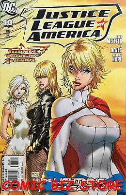 Justice League Of America #10 (2007) 1St Printing Bagged & Boarded Dc