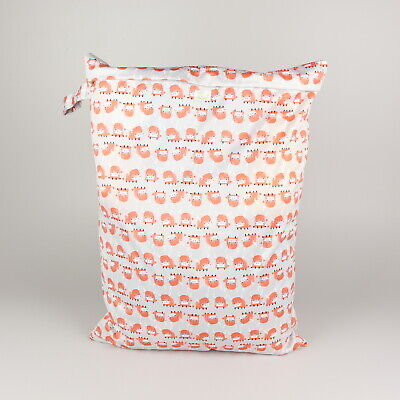 Baba + Boo Large Hanging Bag   Nappy Storage Bag to replace nappy bucket