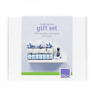 Bambino Mio Muslin Squares Gift Set | Cotton Baby Muslins Gift
