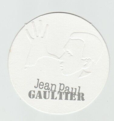 Carte  publicitaire - advertising card -  Jean Paul Gaultier
