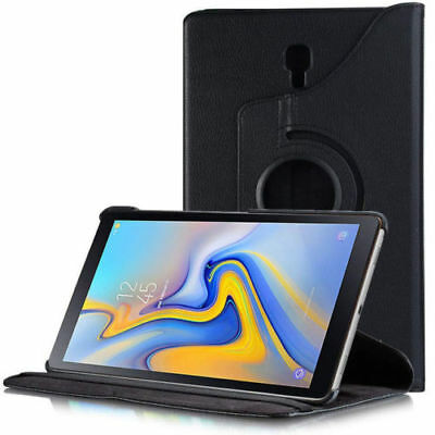 Samsung Galaxy Tab A 10.5 T590 T595 - 360 Rotating Leather Case Stand Cover