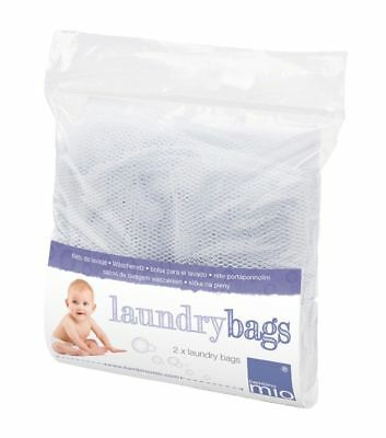 Bambino Mio Mesh Bags | Mesh Nappy Bucket Bags for reusable nappies - 2 Pack