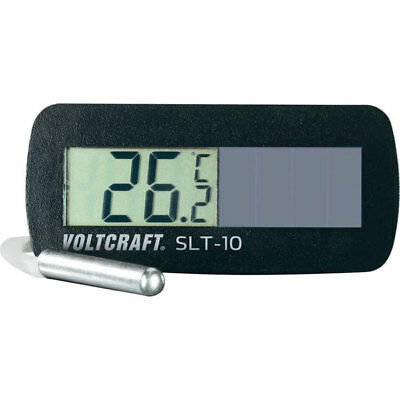 Voltcraft SLT-10 Digital Solar Powered Thermometer -50 to +80 Deg