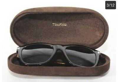 e6be61b891 TOM FORD ANDREW TF 500 98E Transparent Green   Brown Sunglasses 54MM ...