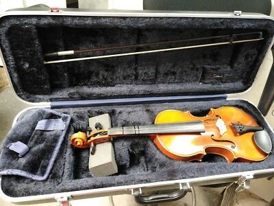 Samuel Eastman VL100 3/4 Student Violin with Bow and hard Case 2011 NEEDS WORK