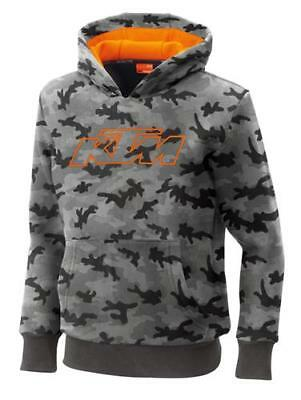 New Ktm Factory Kids Toddlers Hidden Hoodie (Camo) 2X-Small X-Small 3Pw159410X