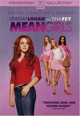 Mean Girls (DVD, 2004, Widescreen Special Collectors Edition) NEW