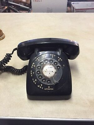 Vintage Automatic Electric Rotary Phone Black