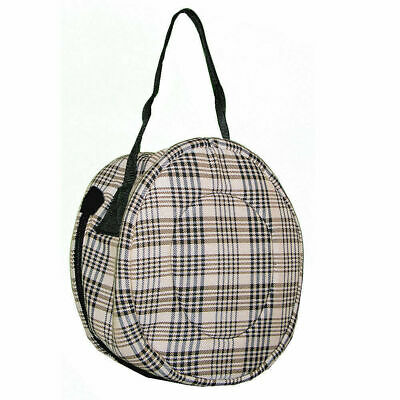 High Spirit Lined Riding Helmet Bag with Full Zipper and Carry Handle