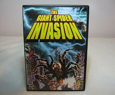 THE GIANT SPIDER INVASION-HOSTED BY SON OF GHOUL-ALAN HALE of GILLIGAN'S ISLAND