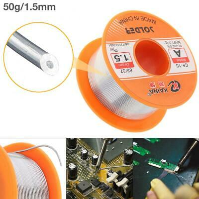 1.5mm 50g Reel Fluxed Solder Wire 63/37 Tin Lead Soldering Welding Wire
