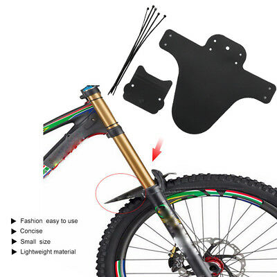 1-2Pair Bicycle Lightest MTB Mud Guards Tire Tyre Mudguards For Bike Fenders
