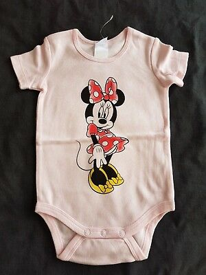 Girls brand new MINNIE MOUSE romper size 000