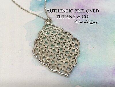 ac73f6ce2 Mint Authentic Tiffany & Co. Paloma Picasso Marrakesh Silver Necklace